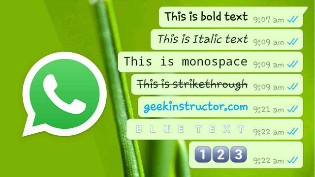 How To Change Font Style And Color On Whatsapp Party Font Stylish Fonts Font Styles