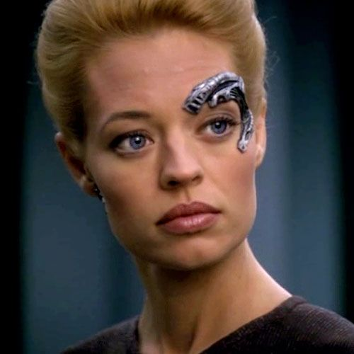 Seven of Nine, from Star Trek