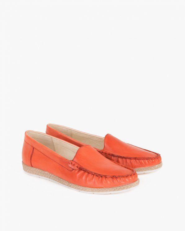Mokasyny Damskie 045 1060 Pomara Loafers Shoes Fashion