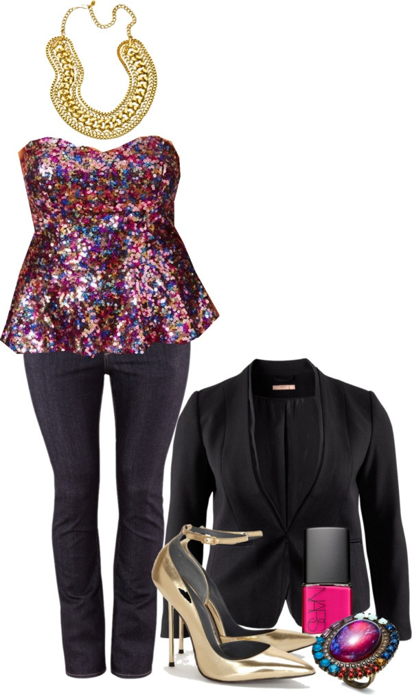 NYE Outfit - Plus Size