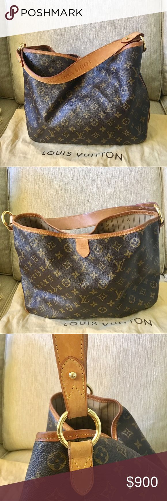 Authentic LV Monogram Delightful PM Authentic LV Monogram Delightful PM lightly worn. Leather shows signs of aging. Canvas is in great condition. Louis Vuitton Bags Shoulder Bags