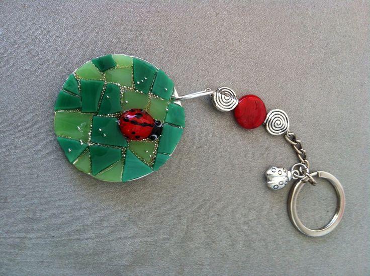 Mosaic keychain Fernanda Elortegui