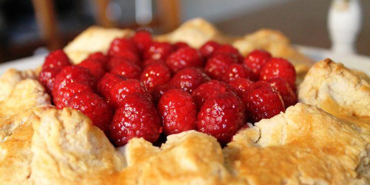 Gluten-Free Raspberry Crostata http://blindedbythebite.com/gluten-free ...