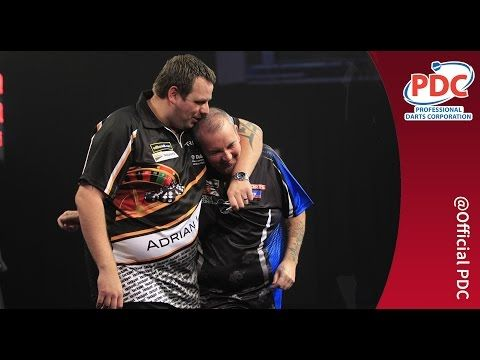 BEST DARTS MATCH EVER | Phil Taylor v Adrian Lewis, 2013 Grand Slam of Darts - YouTube