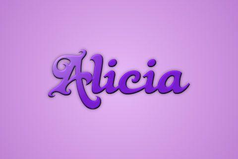 Significado de Alicia - ¿¿Te vas a perder este Nombre??