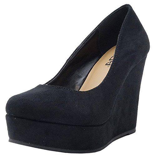 deal soda quot quot womens shoes toe wedge