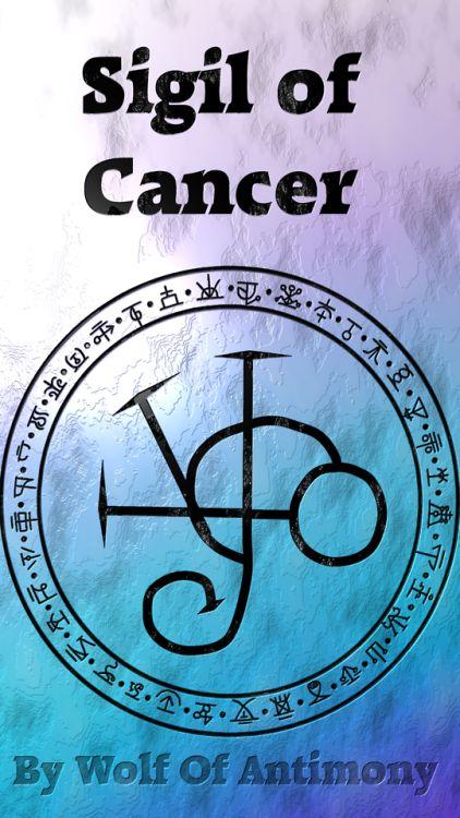 Sigil of cancer