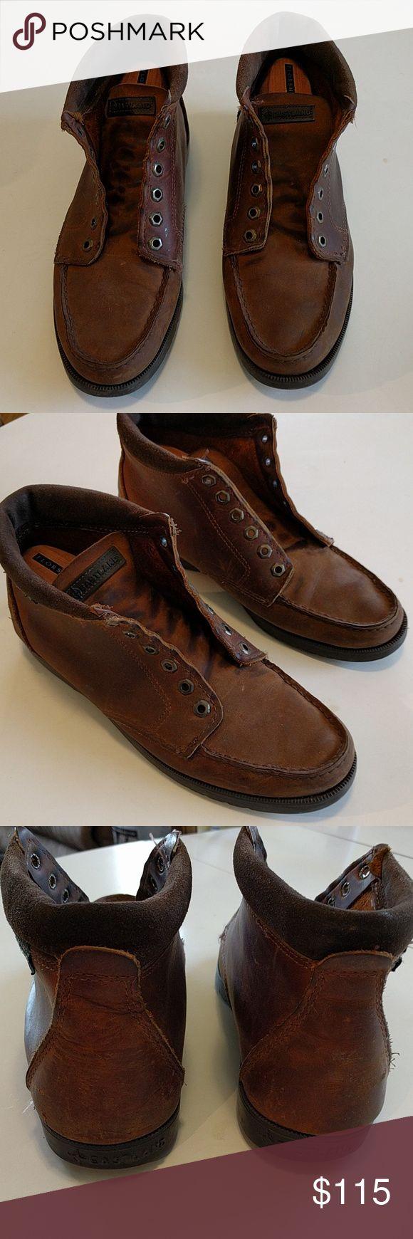 Eastland ankle boots Vintage 6-eyelet made in USA Eastland boots Eastland Shoes Boots