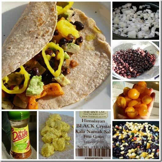 Mexican Style Tofu Scramble Breakfast Burrito