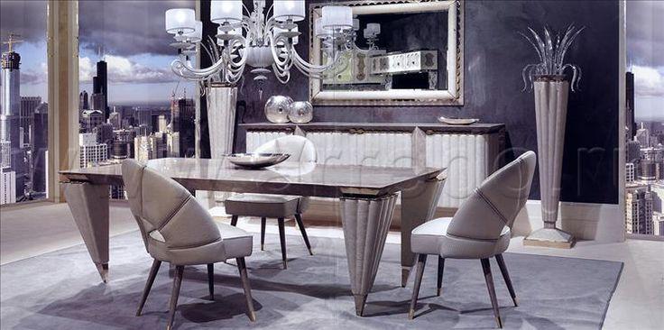 Композиция столовые комнаты 46, производитель TURRI, коллекция COUTURE - ORION – элитная мебель из Италии в салоне «ARREDO»