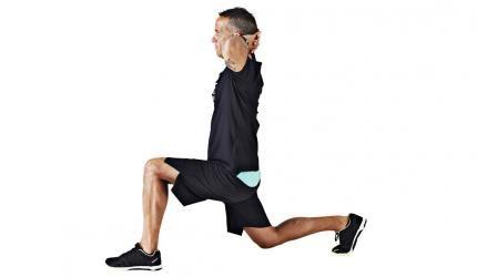 Crossfit video övning: Utfall - styrketräning för framlår, baklår och rumpa