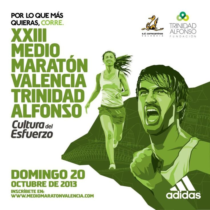 Cartel Medio Maratón Valencia 2014