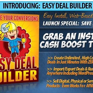 Sell online with easy deal builder, create stunning high converting deals in minutes http://bit.ly/2uGlsRw  #marketing #easydealbuilder