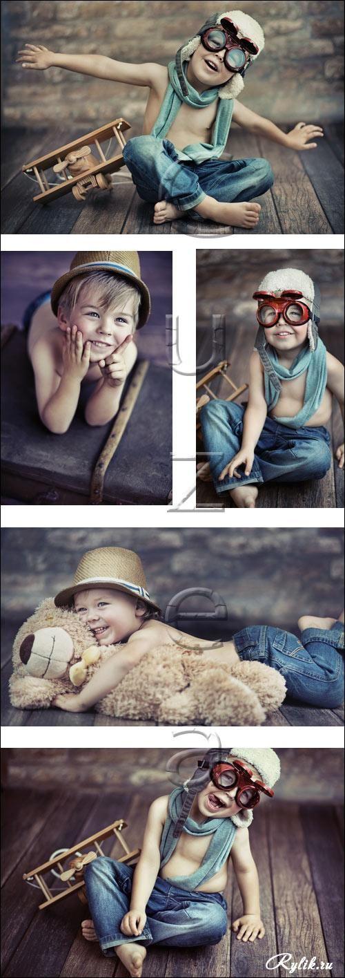 детская фотосессия с самолетом - Поиск в Google