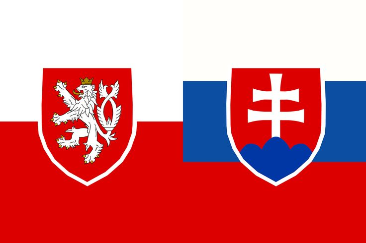 Czechia-Slovakia Federation  Česko-Slovenská Federace  After a discussion with a Slovak. Also, I love the old Austria-Hungary flag :3 You can see where I get my inspiration from ;)