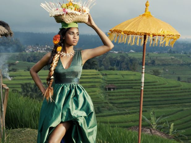 America's Next Top Model photo shoot in Bali, Indonesia ...