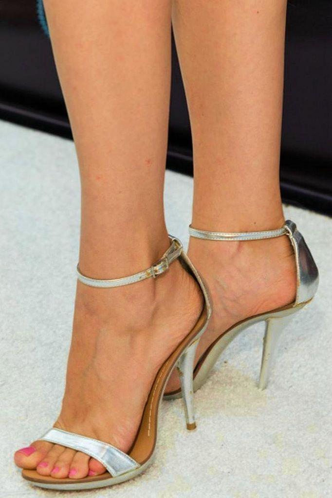 Fashion Back Zipper Strappy High Heels Sandals