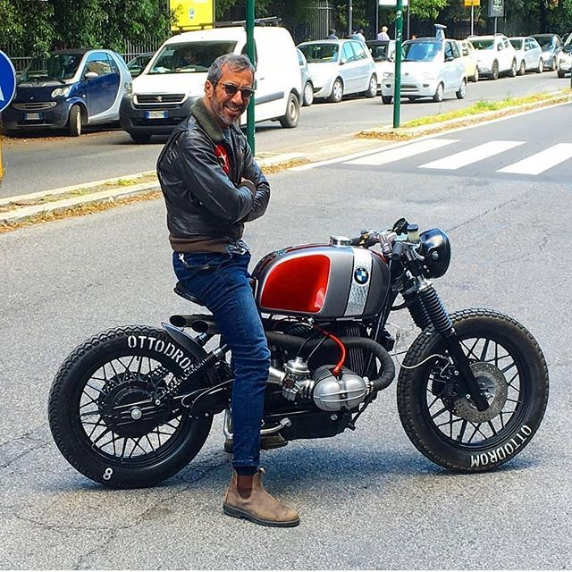 Rate this one from 1 to 10 BMW R100R : @ottodrom Follow us @gentlebikers for…