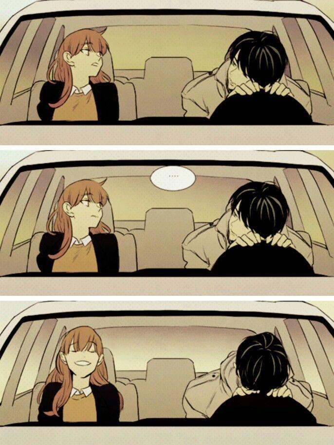 Resultado de imagen para cheese in the trap manga kiss