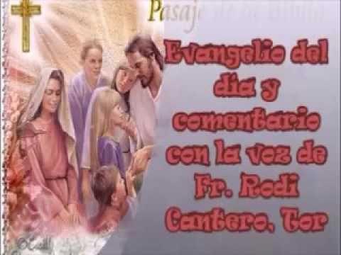 """Evangelio del día y comentario (Mc 10, 13-16) Le trajeron unos niños a Jesús para que los tocara, pero los discípulos los reprendieron. Al ver esto, Jesús se enojó y les dijo: """"Dejen que los niños se acerquen a mí..."""