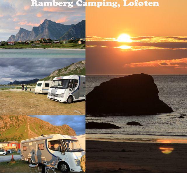 Ramberg Camping, Lofoten, Norway
