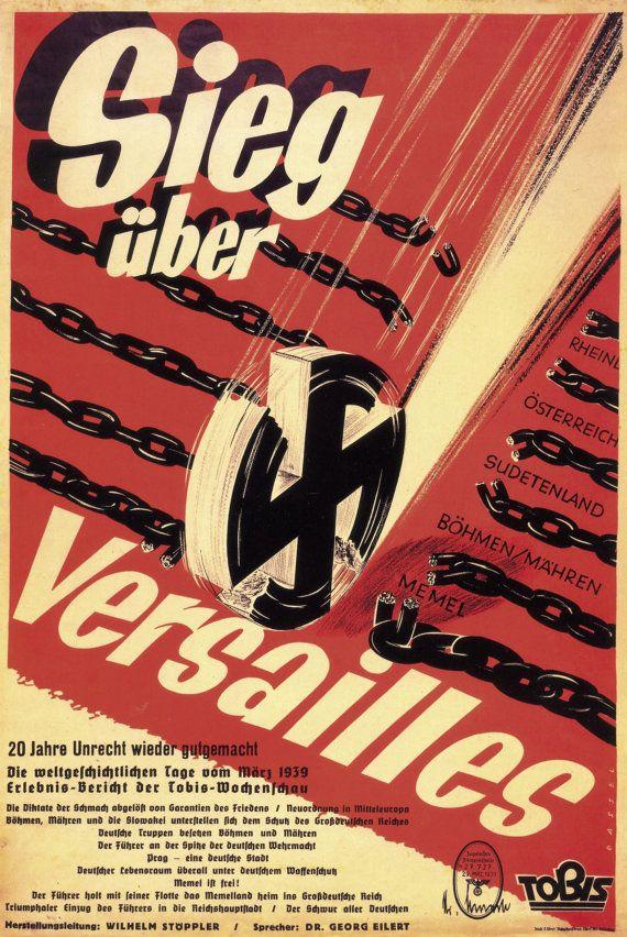 Reprint of a German WWII Propaganda Poster via Etsy