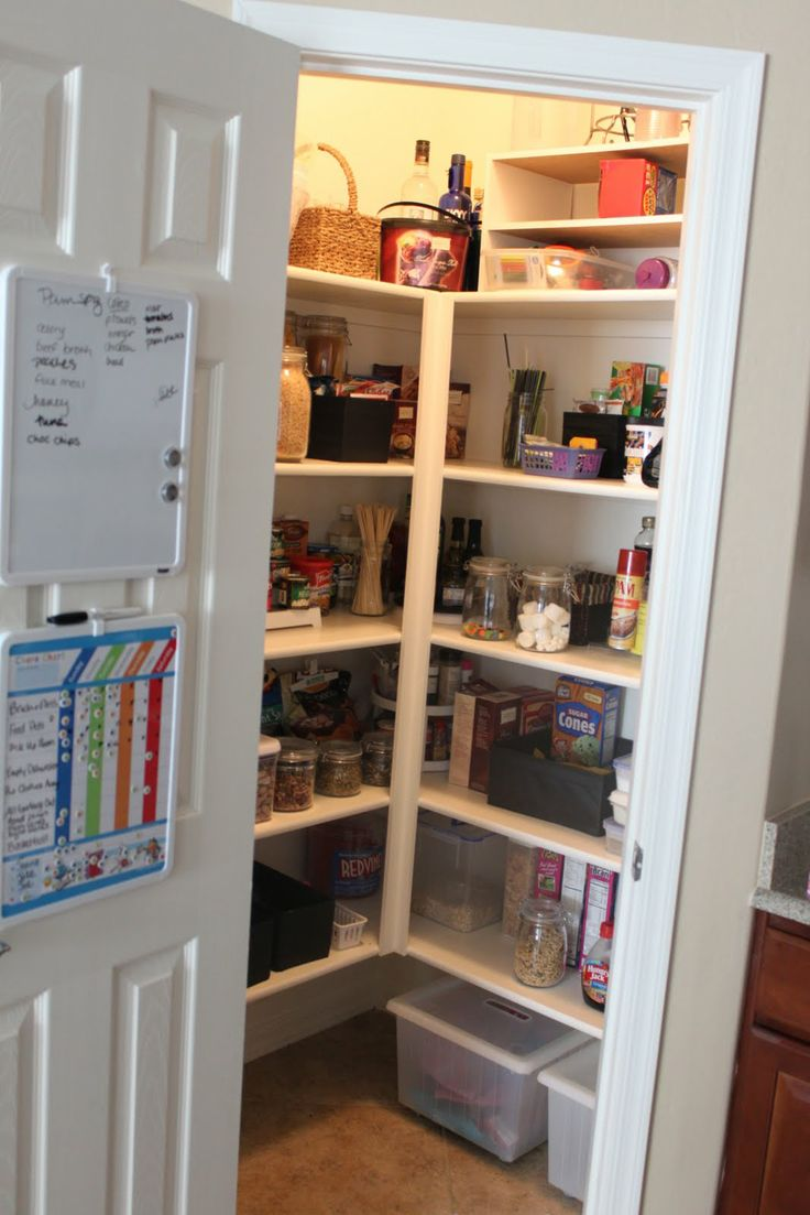 Kitchen Closet Pantry 53 Best New Pantry Images On Pinterest Kitchen Ideas Corner