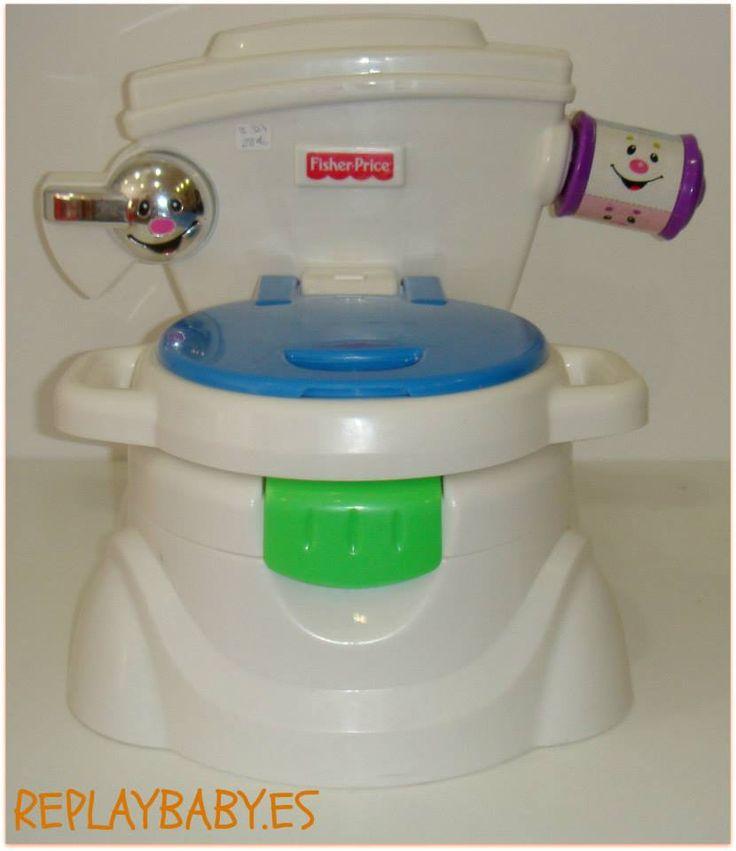 Orinal FIsher Price. dejar el pañal, puppy, bebes, baby, niños, kids facebook.com/replaybaby