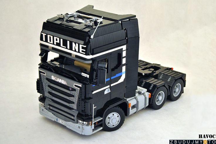 LEGO Scania Topline R780 truck