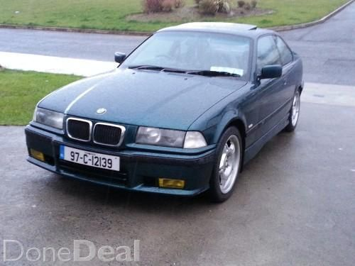 BMW 318is Coupe (m3 Diff) Nctu0027d **
