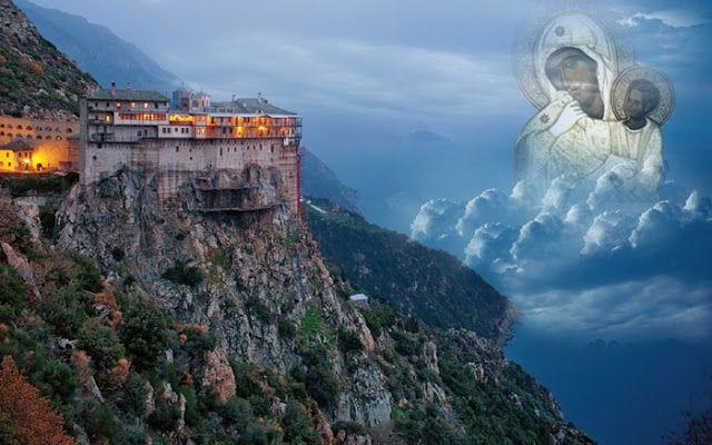 Παναγία Ιεροσολυμίτισσα : Άγιον Όρος. Εκεί που τα ουράνια... χαμηλώνουν