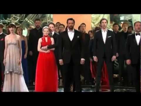▶ Cast of Les Miserables performs at the Oscars