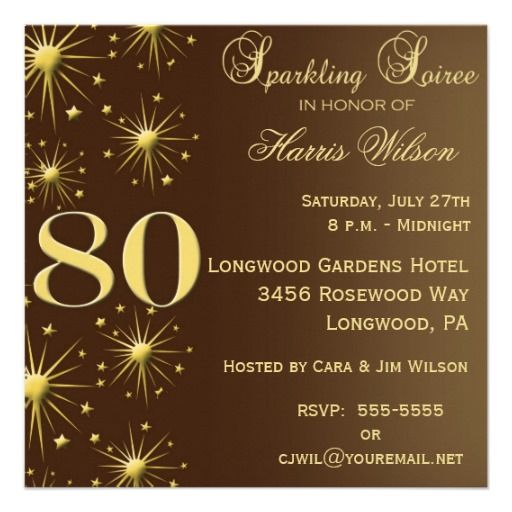 16 best surprise 80th birthday party invitations images on 80th birthday invitations filmwisefo Image collections