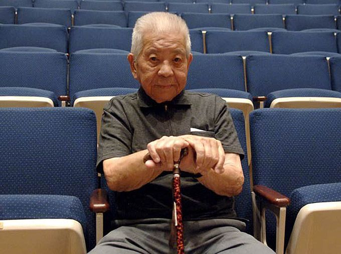 Tsutomu Yamaguchi was in Hiroshima on business when the first atomic bomb hit. He made it home to Nagasaki for the second. He lived to be 93 years old.