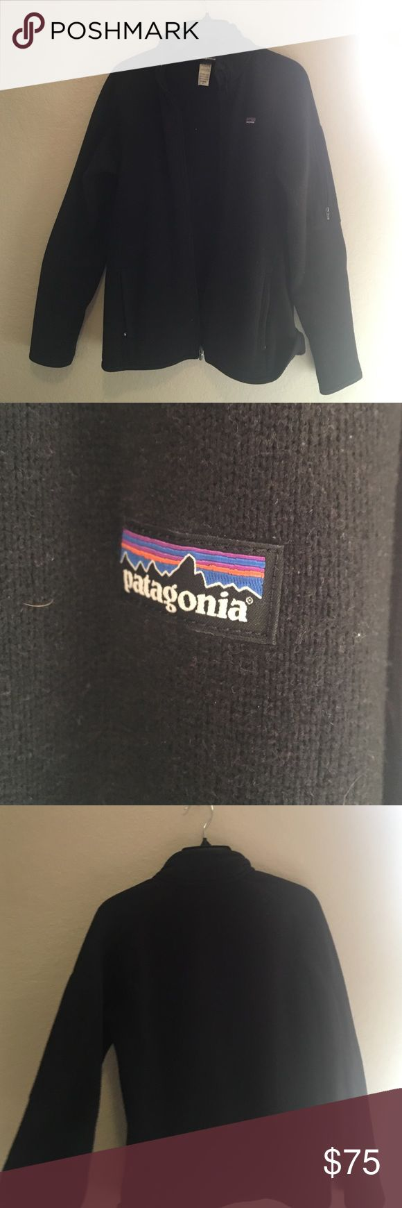 Patagonia Better Sweater Jacket Black fleece full zip jacket. No good. Patagonia. Patagonia Jackets & Coats
