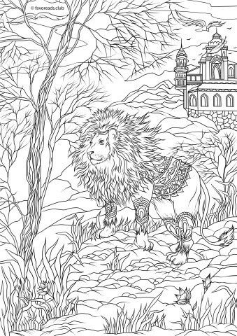 81 best Malvorlagen Fantasy images on Pinterest | Coloring books ...