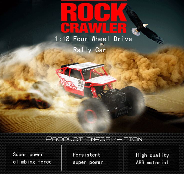 $55.78 - Awesome Hot Sale RC Car 2.4Ghz 4WD 1/18 4 Wheel Drive Rock Crawler Rally Car 4x4 Double Motors Bigfoot car Off-Road Vehicle Toys - Buy it Now!