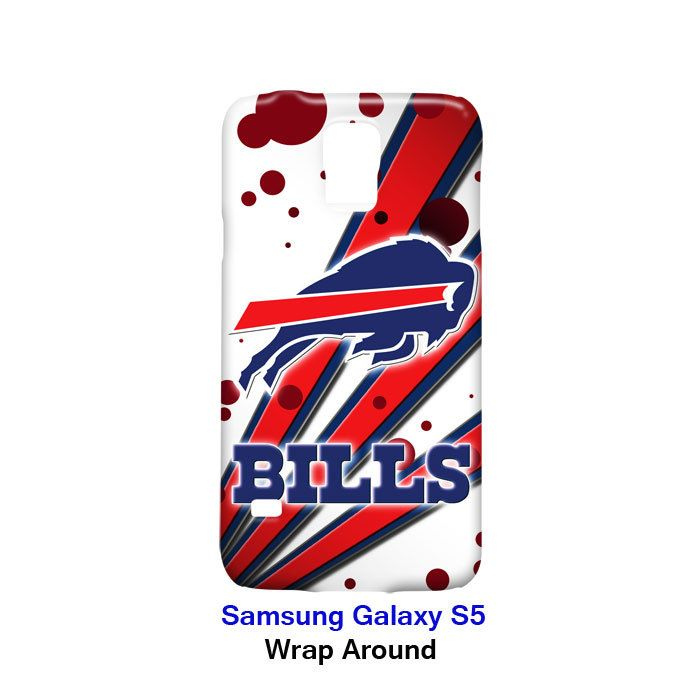 Buffalo Bills Node and Strip Samsung Galaxy S5 Case Cover Wrap Around