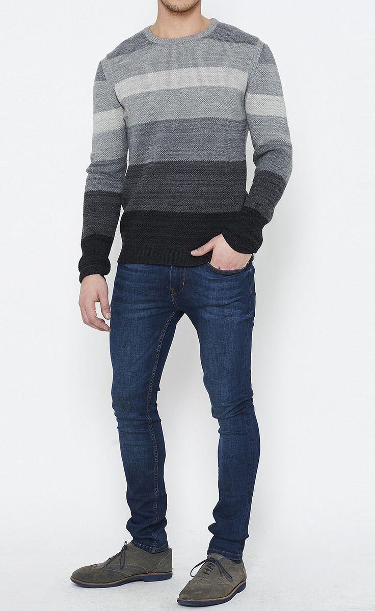 Rag & Bone Shades Of Grey Sweater | VAUNTE