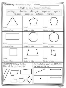name the polygon and decompose shapes math teaching math geometry activities third grade math. Black Bedroom Furniture Sets. Home Design Ideas