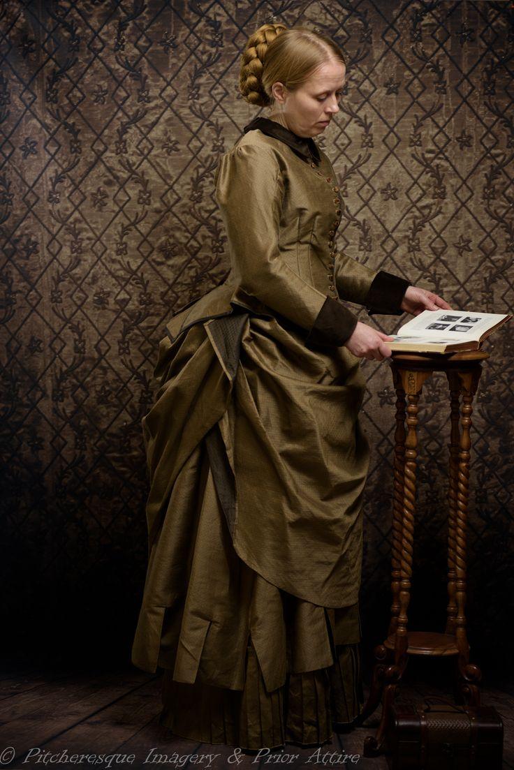 Victorian gown 1885 by Prior Attire | Victorian fashion ...