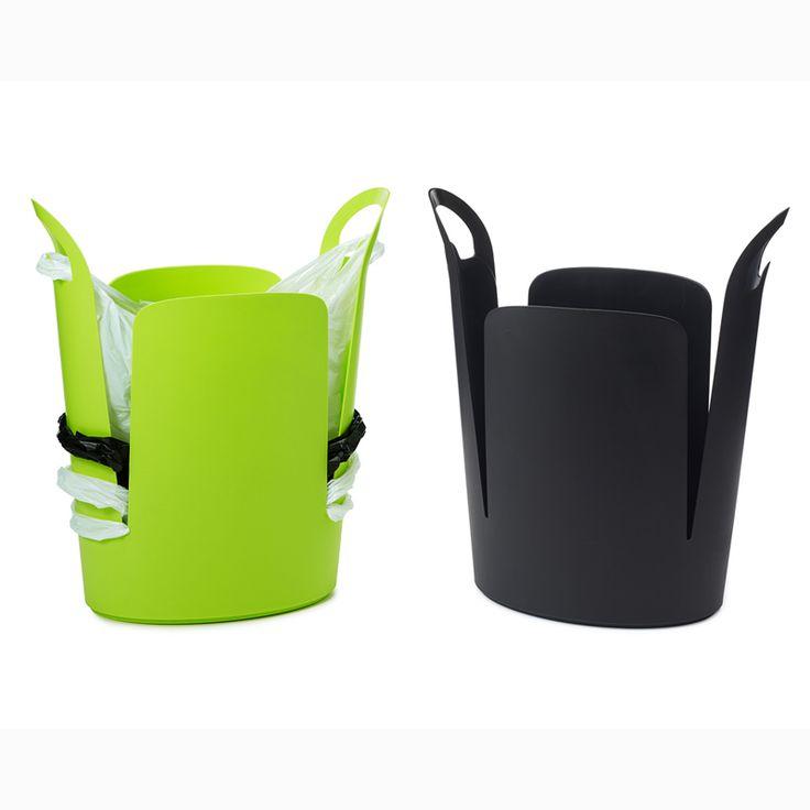 Urbano Eco Trash Can, un bote de basura muy ecológico - Want it in Black
