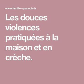 Do you practice any of these soft acts of violence with your children