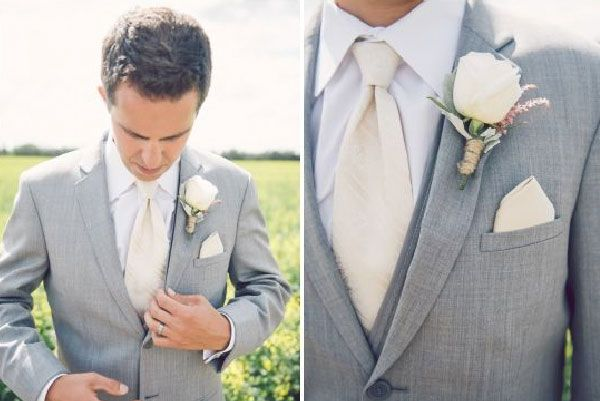 El traje es el traje de novio para bodas de día, en jardín y con clima cálido…