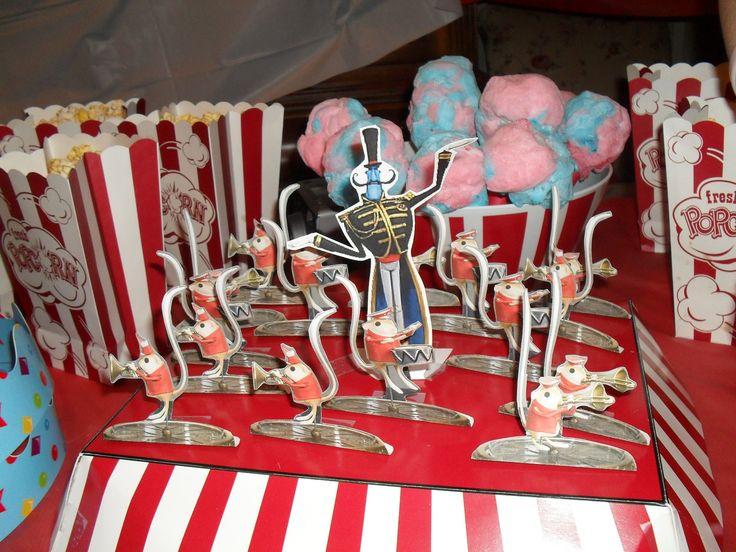 Coraline Mr. Bobinski's mouse circus