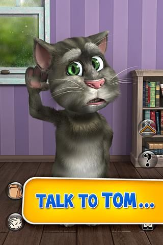 Talking Tom Cat 2 cho android - http://itaiungdung.com/talking-tom-cat-2-cho-android/