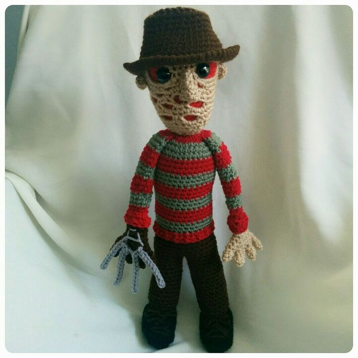 11 Best Horror Crochet Images On Pinterest Freddy