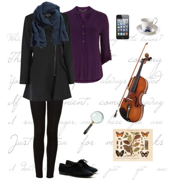 Sherlock inspired outfit! @Nicole Hope Farinaccio