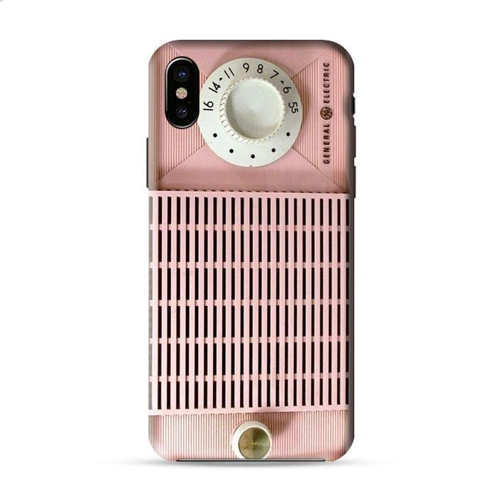 Old Pink Radio Iphone X 3D Case Caseperson