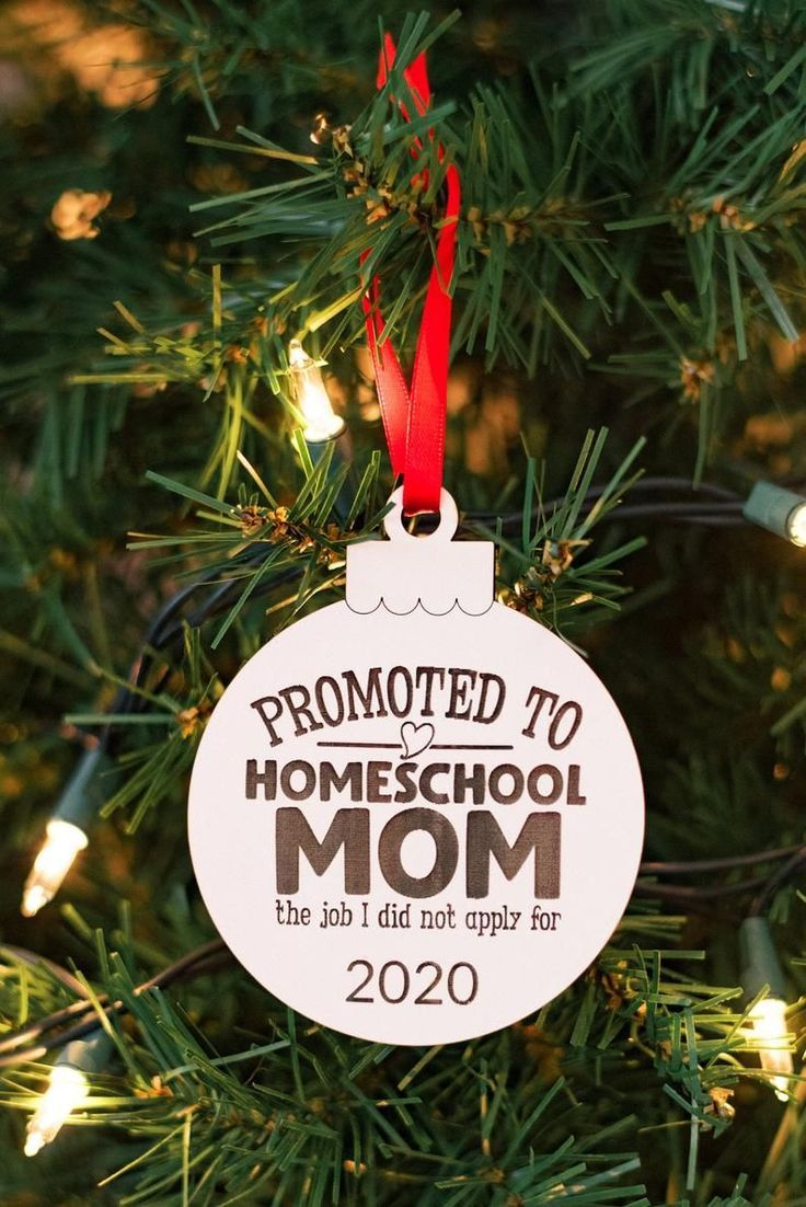 2020 Homeschool Mom Ornament 2020 Christmas Ornament White Etsy In 2020 Funny Christmas Ornaments Christmas Ornaments Christmas Ornament Crafts